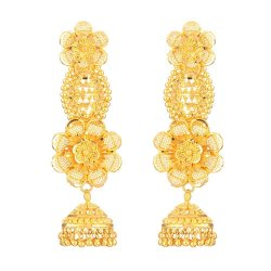 22ct Gold Bridal Earring