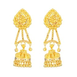 22ct Gold Indian Bridal EarringMade in 22ct Yellow GoldWt: 15.4 gSku 32072All prices include VATAll our products are hallmarked by London Assay OfficeAll set comes with presentation BoxDelivery IncludedLive chat with us for availability and more images of similar designs currently in stock
