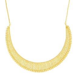 Jali 22ct Gold Filigree Necklace