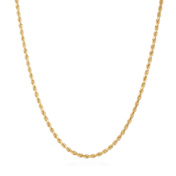 22ct Gold Mens Rope chain