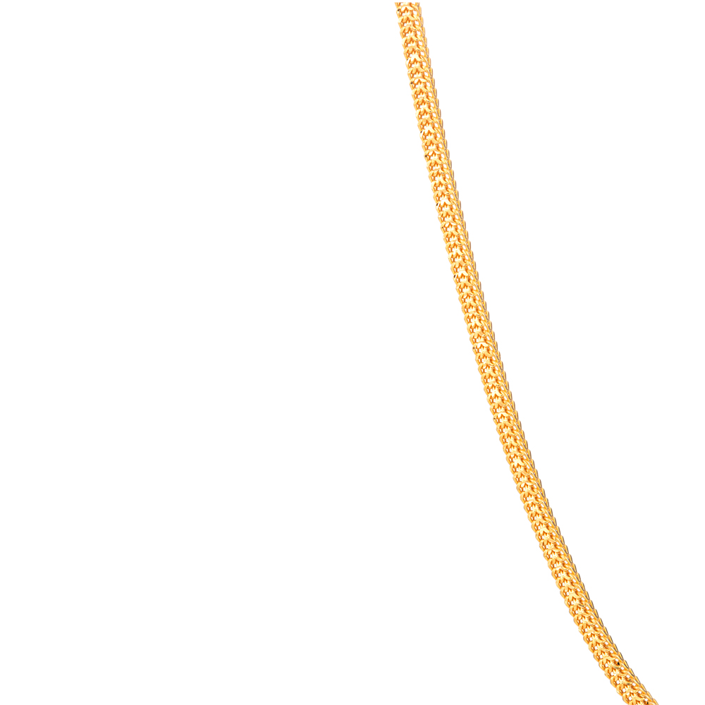 22ct Gold Chain 16 Inches Double Line Foxtail CHFX223