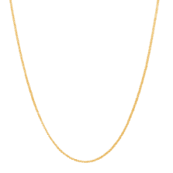 22ct Gold Light Box Chain CHBX269