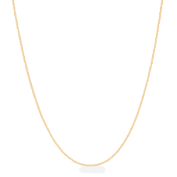 22ct Gold Light Box Chain CHBX061