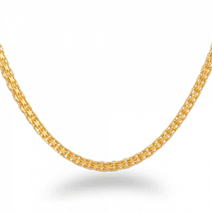 22ct Gold Chain 22 Inches Milan CHMI212