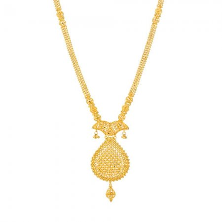 Jali 22ct Gold Filigree Necklace