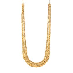 22 Carat Gold Necklace With Antique FinishWt. 81.8gSKU. 31957All prices include VAT22ct Gold Hallmarked by London Assay OfficeComes With Presentation BoxDelivery IncludedLive chat with us for availability and more images of similar designs currently in stock