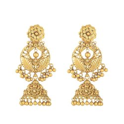 Rosettes Collection 22ct Gold Earring Jumkha RSER032