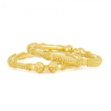 22ct Gold Jali Kadas