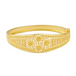 22ct Gold Single Bangle