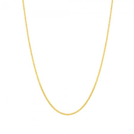 22ct Gold Spiga Chain 11.2gm 18 Inches