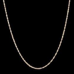 22ct Gold Light Ripple Chain CHRI250