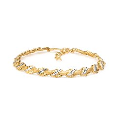 22ct Gold Ladies Bracelet 14.2gm