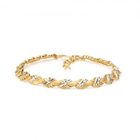 22ct Gold Ladies Bracelet 14.2gm