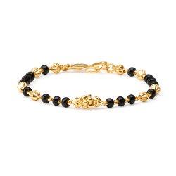 22ct Gold Baby Bracelet YGBT039
