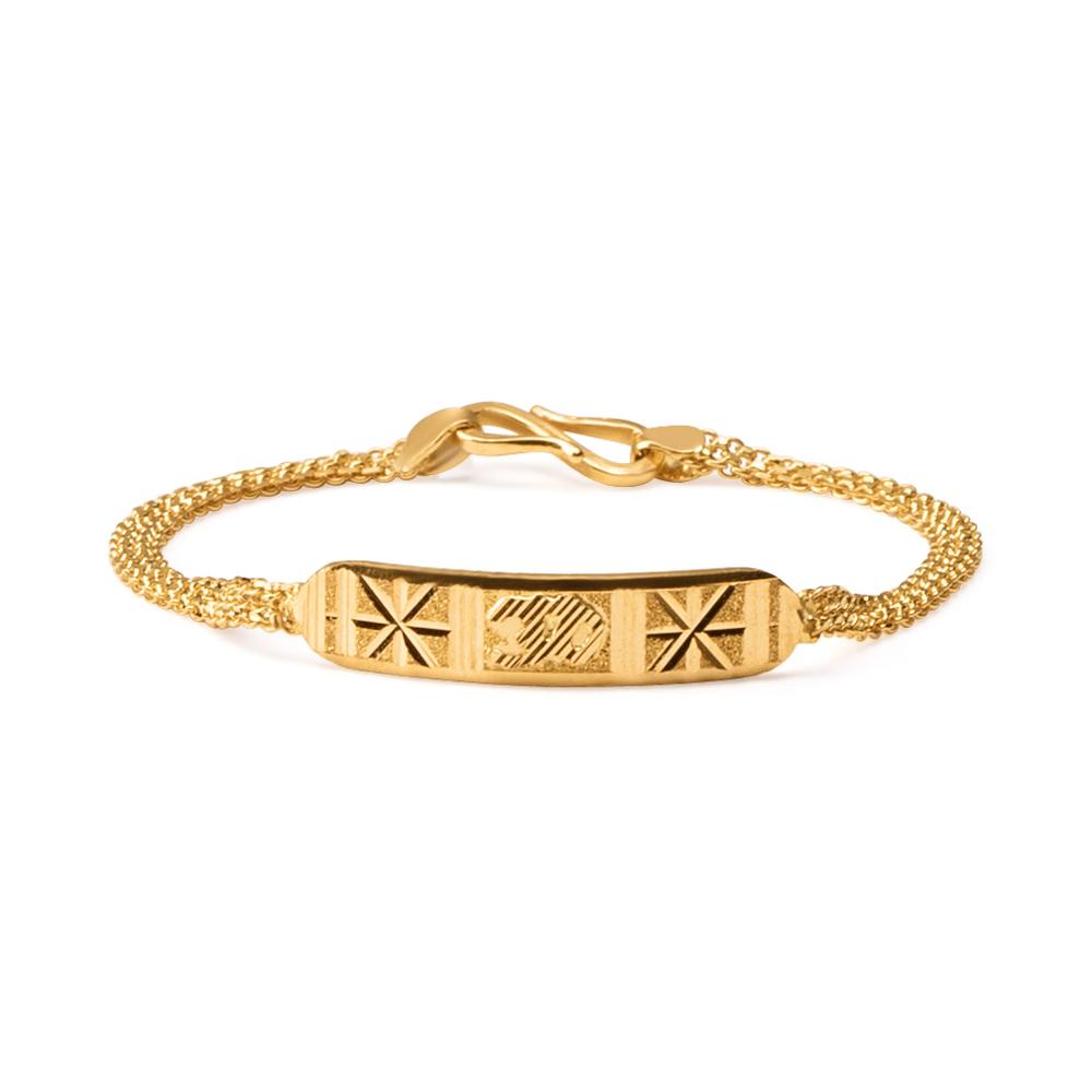 22ct Gold Light ID Baby Bracelet YGBT030