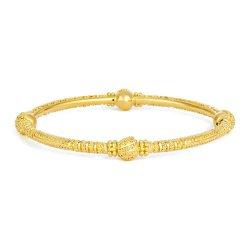Jali Collection 22ct Gold Kada 13 gm