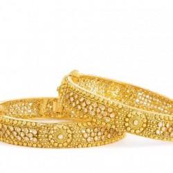Armari Collection  22ct Gold Kada  29.7 gm
