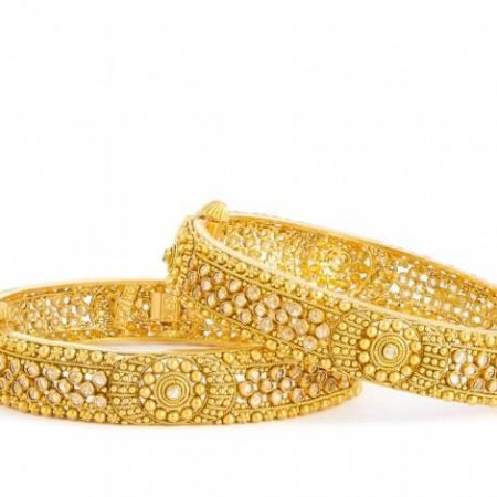 Armari Collection  22ct Gold Kada  29.7 gm