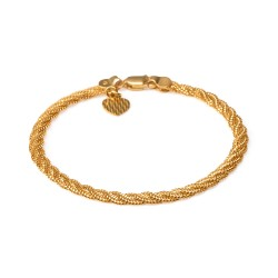 22ct Gold Ladies Bracelet YGBR131