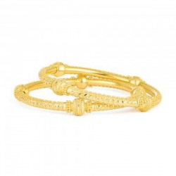 Jali Collection 22ct Gold Kada JLKD487