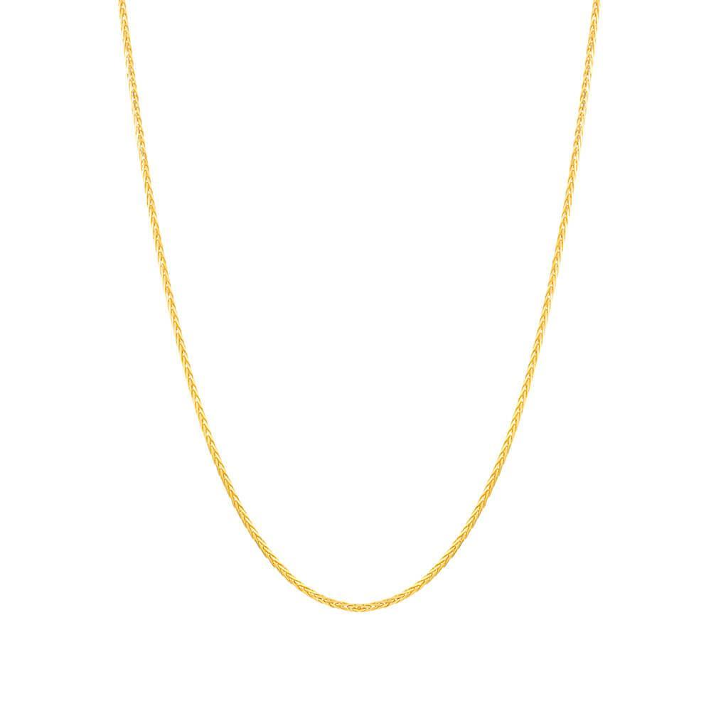 22ct Gold Chain 22 Inches Spiga CHSP216