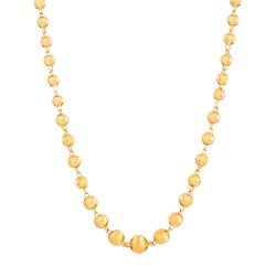 22ct Gold Mala 25.4gm