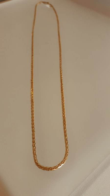 22ct Gold Chain 24 Inches Spiga CHSP263