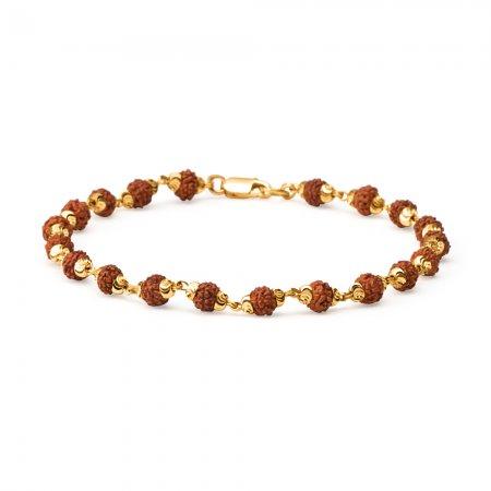 22ct Rudraksh Bracelet