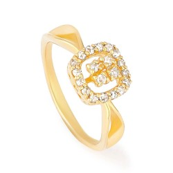 Diya Collection 22ct Gold Ring