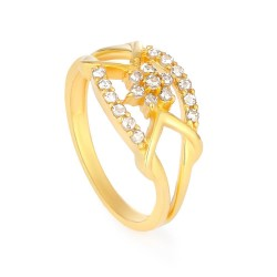 Diya 22ct Gold Polki Diamond Ring