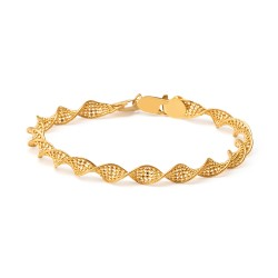 22ct Gold Ladies Bracelet Twisted YGBR110