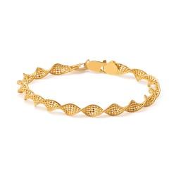 22ct Gold Ladies Bracelet Twisted YGBR110