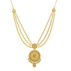 Rosettes Collection 22ct Gold Necklace 40.5gm