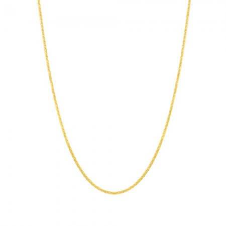 22ct Gold Chain 16 Inches Spiga CHSP112