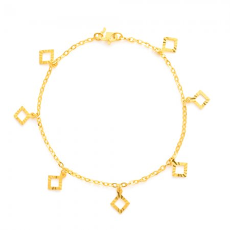 22ct Gold Ladies Bracelet 3.4 gm