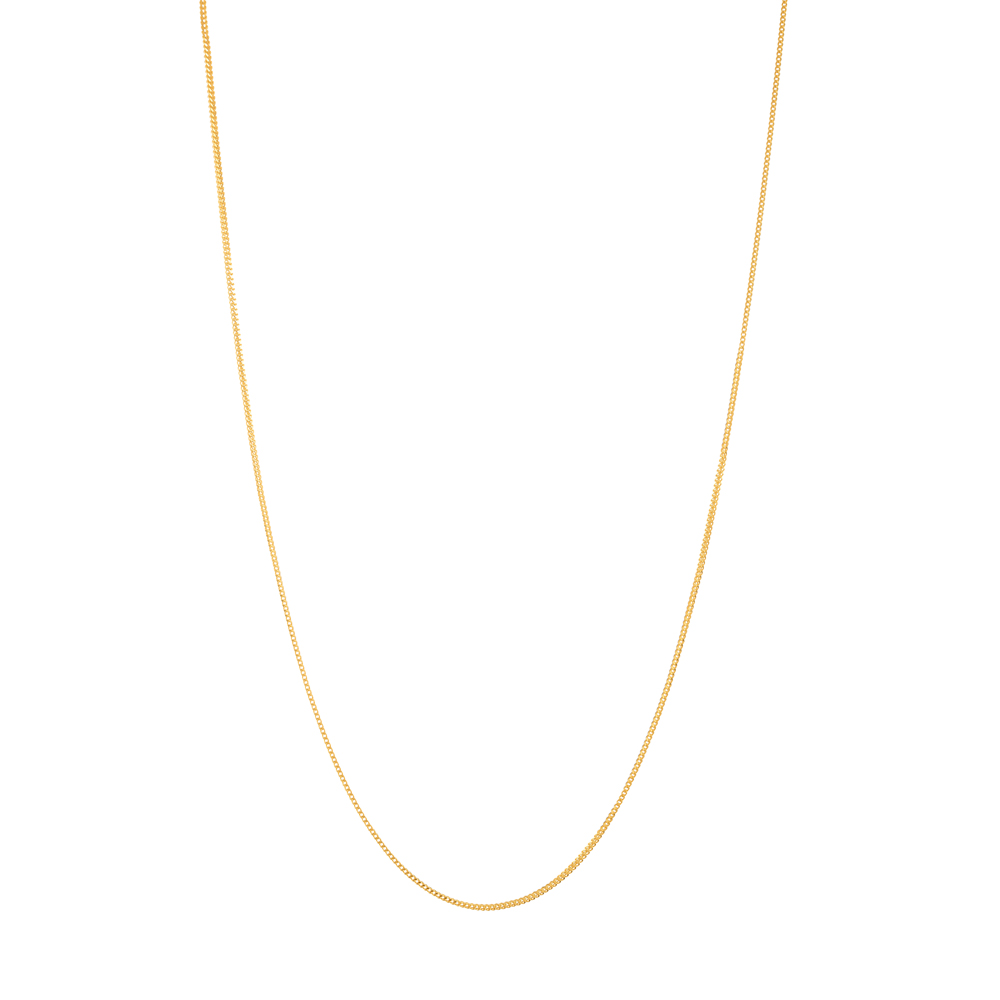22ct Gold Light Foxtail Chain CHFX036