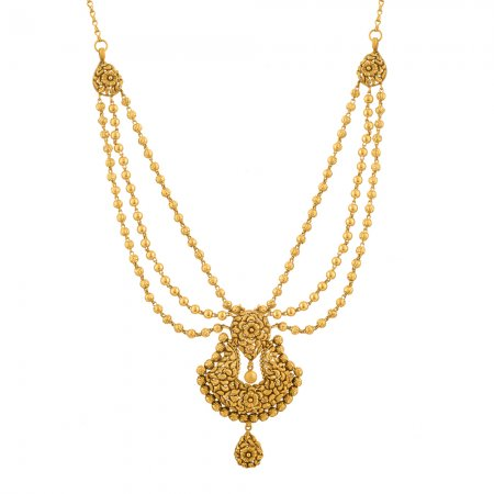 Rosettes Collection 22ct Gold Necklace 35gm