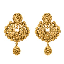 Rosettes Collection 22ct Gold Earring 12.7gm