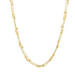 22ct Gold Choker 16.5gm