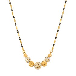 22ct Gold  Mangalsutra 8.7gm 19 Inches