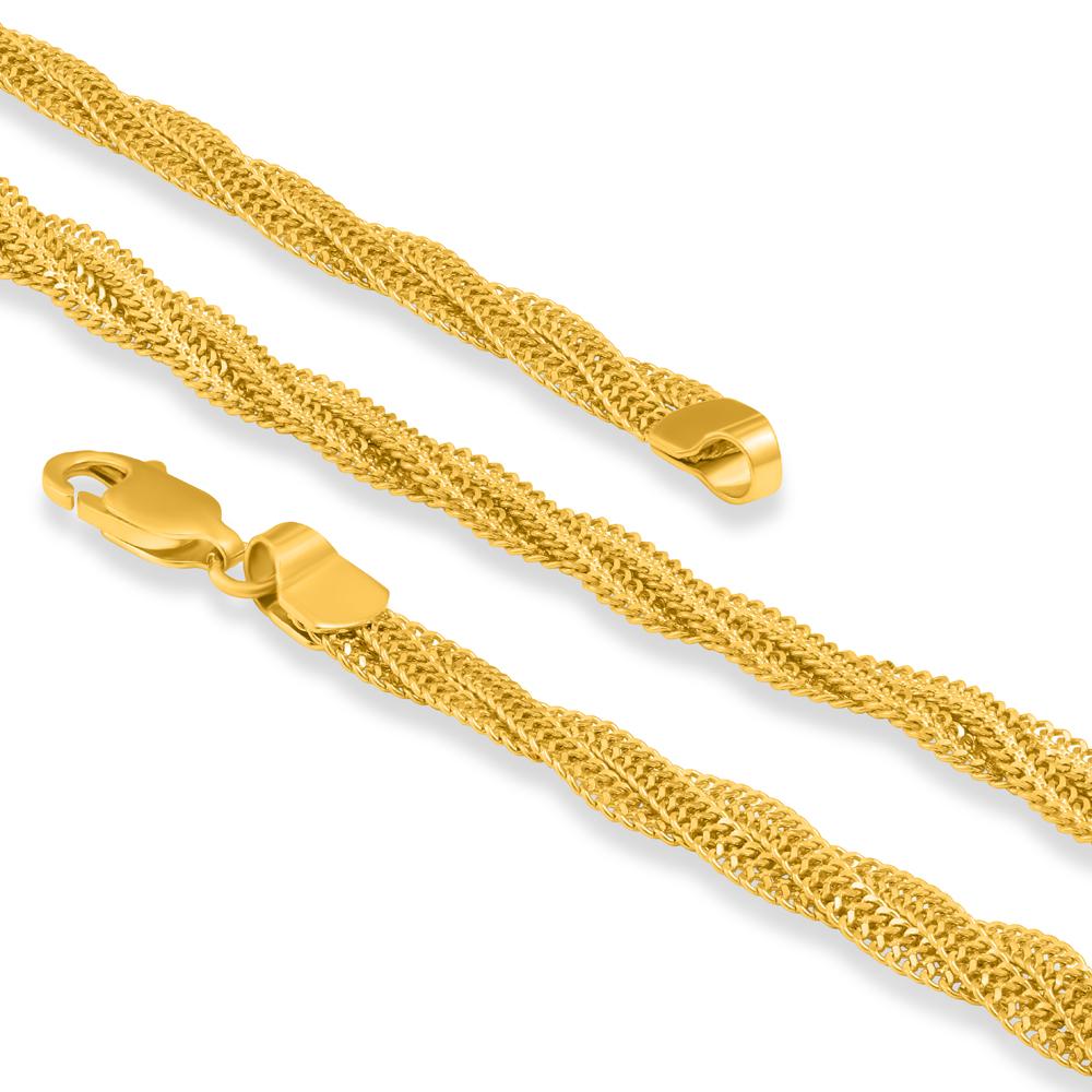 22ct Gold Braid Chain 32074-2