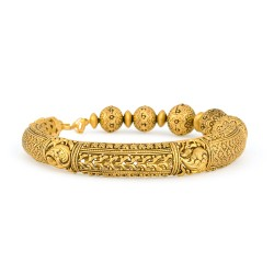 Rosettes Collection 22ct Gold Kada 27.8gm