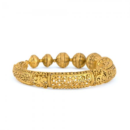 Rosettes Collection 22ct Gold Kada 30.7gm