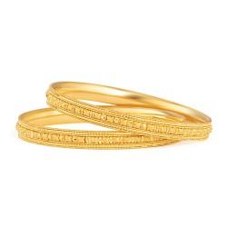 Jali Collection 22ct Gold Kada 20.9gm