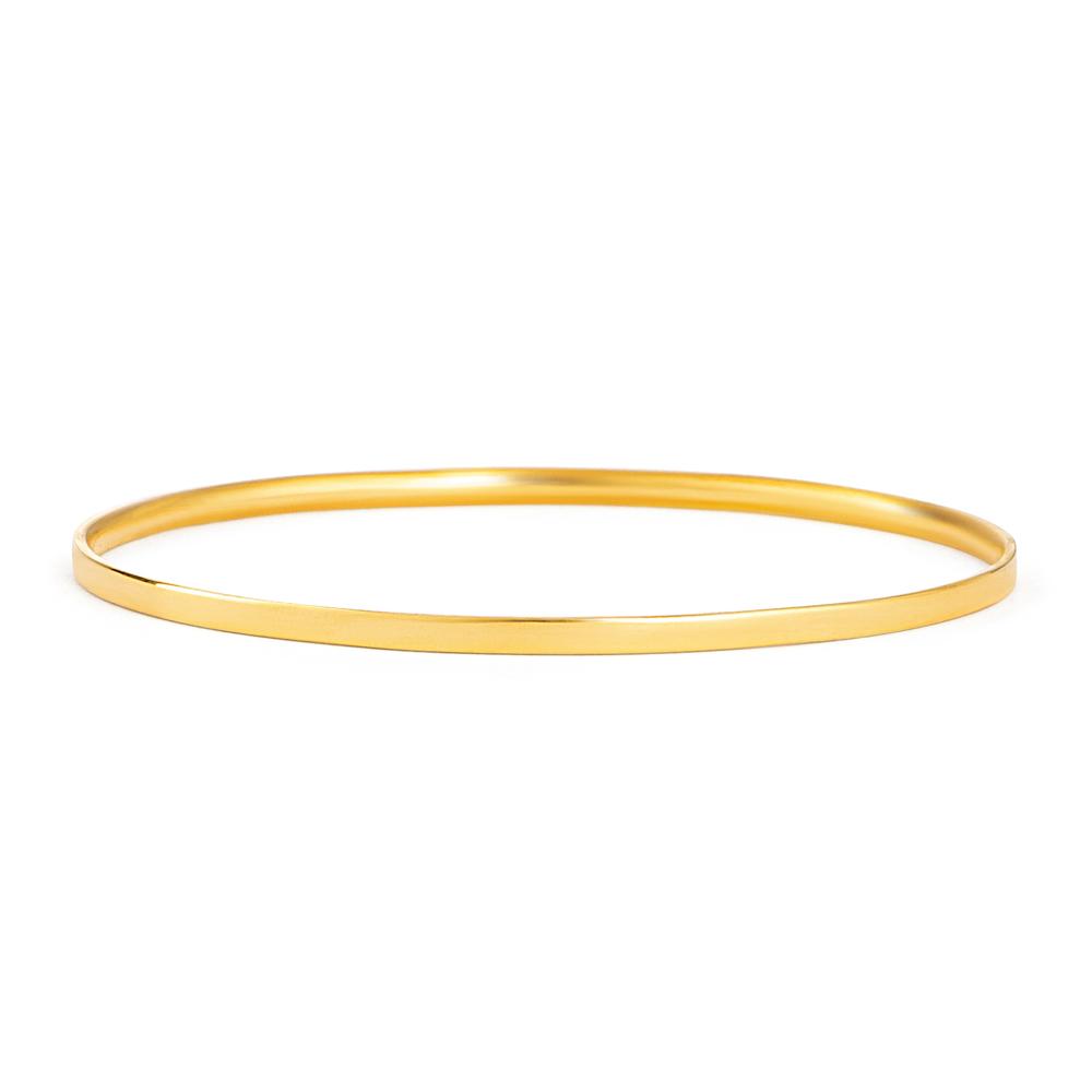 22ct Gold Daily Wear Bangle YGBG115