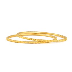 Jali 22ct Light Flat Filligree Bangle JLBG510