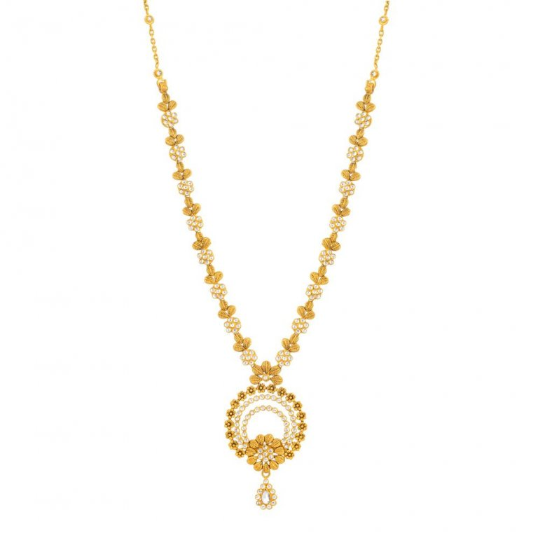22ct Gold Necklace 23.9gm