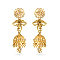 22ct Gold Earring 16gm
