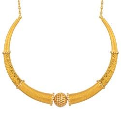 22ct Gold Necklace 45.2gm