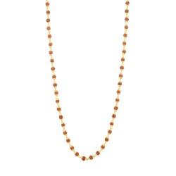 22ct Gold Rudraksh Gold Mala 14.5gm